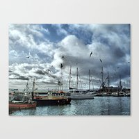 The Fleets In Canvas Print