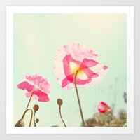 Sunshine & Poppy Art Print