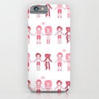 Girl + Boy + Cat iPhone 6 Slim Case