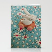 Bunny Blues Stationery Cards