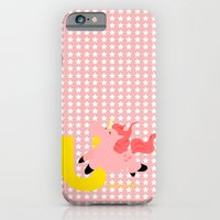 iPhone & iPod Case featuring u for unicorn by Alapapaju