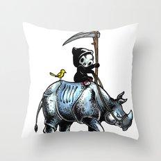 Little Death Throw Pillow