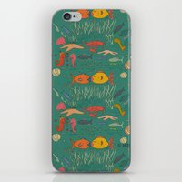 Fishy Kisses iPhone & iPod Skin