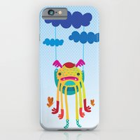 monster iPhone & iPod Cases featuring Monster by Maria Jose Da Luz