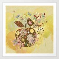 Der Apfel - The Apple Art Print
