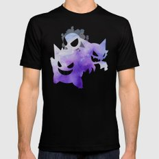 Ghosts Black Mens Fitted Tee SMALL