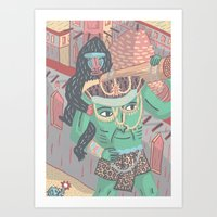 Gods And Monsters #2 The… Art Print