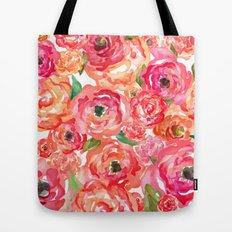 Bed of Roses Tote Bag