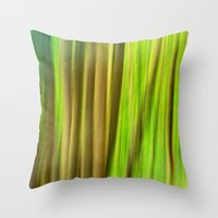 FOREST PEACE ABSTRACT Throw Pillow