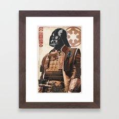 Star Wars - Samurai Vader Framed Art Print