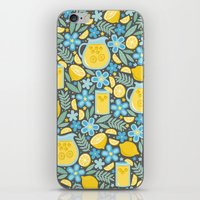Evening Glass of Lemonade iPhone & iPod Skin