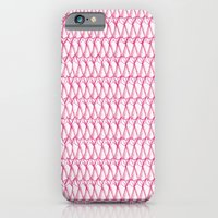 Pink pattern iPhone 6 Slim Case