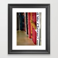 Cheesy Framed Art Print