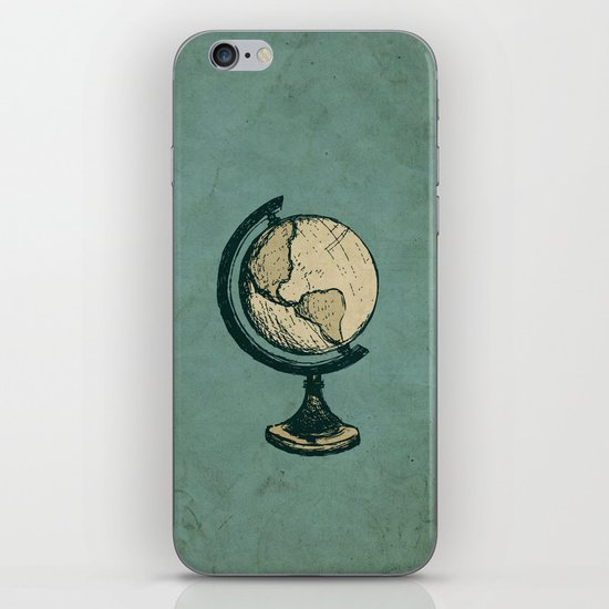 Travel On iPhone & iPod Skin