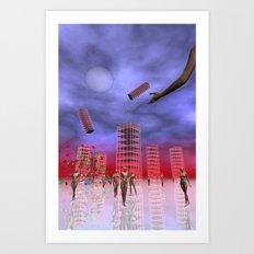 future vision Art Print