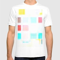 Wash Mens Fitted Tee White SMALL