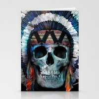 indian Stationery Cards featuring Indian by Guilherme Rosa // Velvia