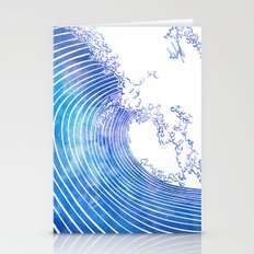 Pacific Waves III Stationery Cards