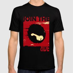 Join us Mens Fitted Tee Black SMALL