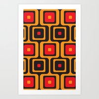 airport lounge Art Print