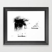 A Nightmare I Had... Framed Art Print