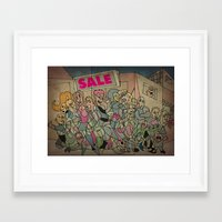 Sale Framed Art Print