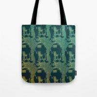 Star Wars Pop Art: Cool R2D2 Tote Bag