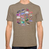 Nudibranch Mens Fitted Tee Tri-Coffee SMALL