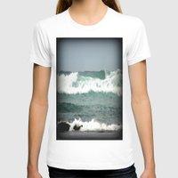 T-shirt featuring Rough Seas by Chris' Landscape Images & Designs