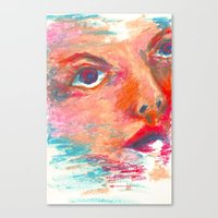 Color Swept Canvas Print