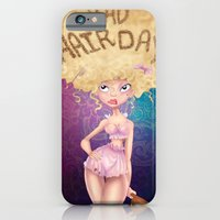 iPhone & iPod Case featuring Bad Hair Day by Melanie Coutavas