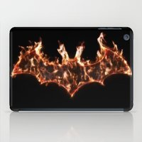 Bat On Fire iPad Case