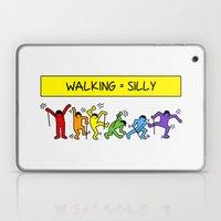 Pop Shop Silly Walks Laptop & iPad Skin