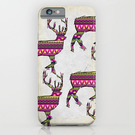 Deer Navajos pattern iPhone & iPod Case