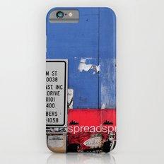 Street Collage II Slim Case iPhone 6s