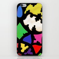 turkish in bright colors iPhone & iPod Skin