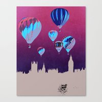 Sky of London Canvas Print