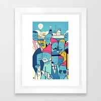 The Life Acquatic With S… Framed Art Print