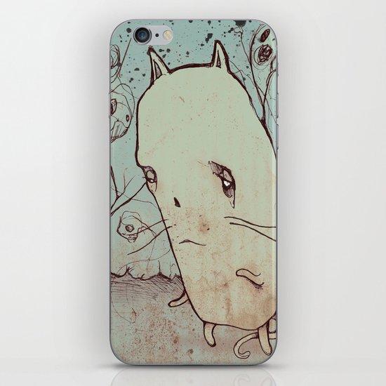 Ghost Cat iPhone & iPod Skin