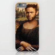 Hugh Jackman Mona Lisa F… iPhone 6 Slim Case