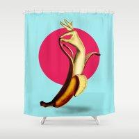 El Banana Shower Curtain
