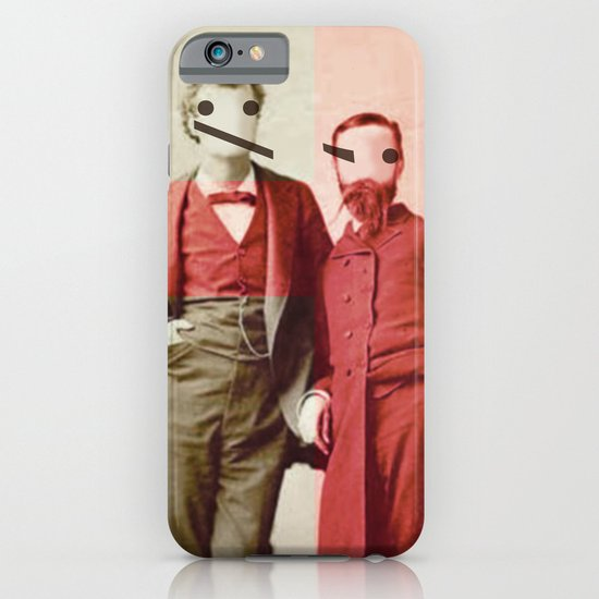 the backslash brothers iPhone & iPod Case