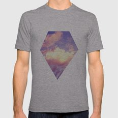 Cloudscape IV Mens Fitted Tee Athletic Grey SMALL