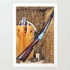 Winchester Rifle Art Print