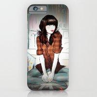 Zooey Deschanel Night iPhone 6 Slim Case
