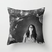 Sci-Fi Throw Pillow
