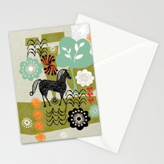 magical horse garden Stationery Cards