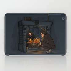 The Witch in the Fireplace iPad Case
