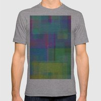Squares#2 Mens Fitted Tee Athletic Grey SMALL