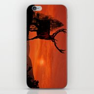 Deer On A Hill iPhone & iPod Skin